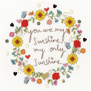 Bothy Threads  Cross Stitch Kit - Love Sunshine