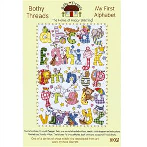 Bothy Threads  Cross Stitch Kit - My First Alphabet