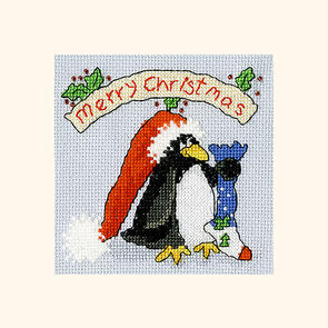 Bothy Threads  Cross Stitch Kit - Christmas Card – PPP Please Santa