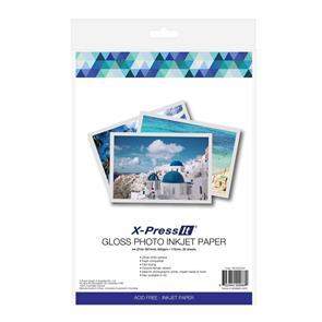 X-Press It  Inkjet Paper Gloss 200gsm A4 (20)