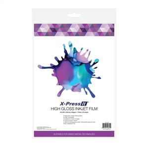 X-Press It  High Gloss Inkjet Film - A4 20/pack