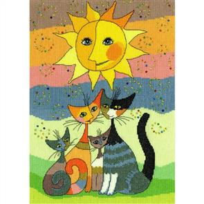 Bothy Threads  Rosina Wachtmeister Cross Stitch Kit - Happy Moments
