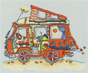 Bothy Threads  Sew Dinky VW Van - Cross Stitch Kit