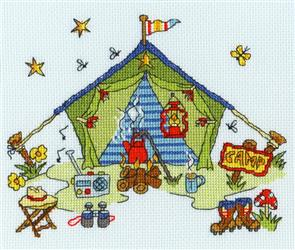 Bothy Threads  Sew Dinky Tent - Cross Stitch Kit