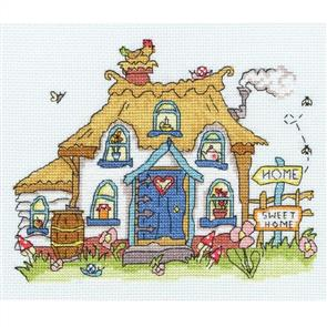 Bothy Threads  Sew Dinky Cottage - Cross Stitch Kit