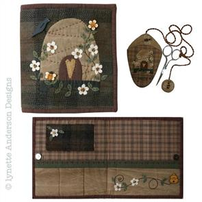Lynette Anderson  Pattern & Button Pack - Beehive Sewing Book