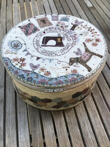 Lynette Anderson Stitching Circle Basket (pattern)