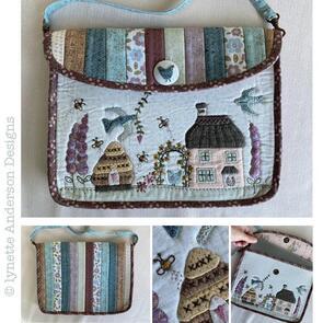 Lynette Anderson  Horseshoe Cottage Tablet Bag (pattern)