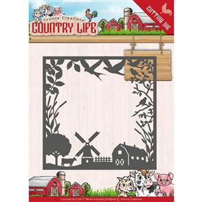 Find It Trading Country Life Die - Country Life Frame