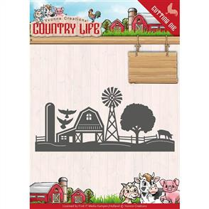 Find It Trading Country Life Die - Farm Border