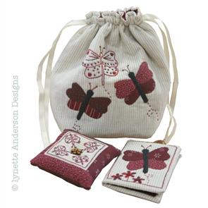 Lynette Anderson  Butterfly Sewing Set