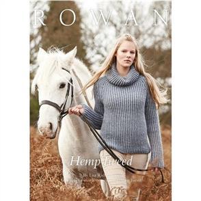 Rowan  Books - Hemp Tweed - 14 Designs