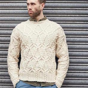 Rowan  Knitting Pattern - Heston Sweater
