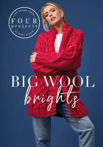 Rowan  Books: 4 Projects - Big Wool Brights