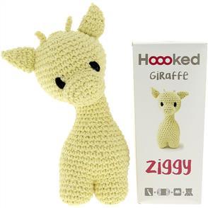 Hoooked Ziggy Giraffe Kit - Popcorn