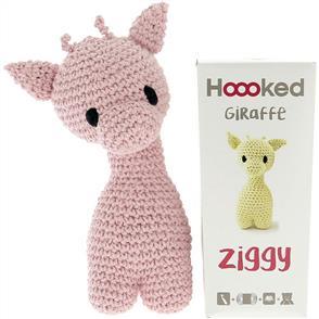 Hoooked Ziggy Giraffe Kit - Blossom
