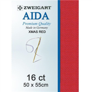 Zweigart Aida 16ct 50x55cm