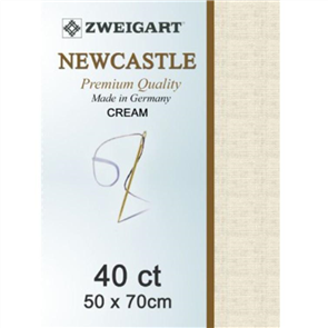 Zweigart  Newcastle 40ct Fabric