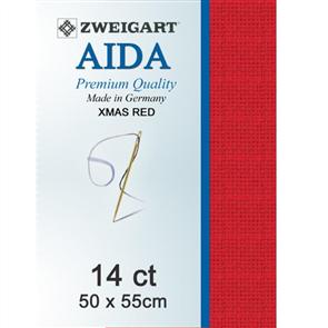 Zweigart Aida 14ct 50x55cm