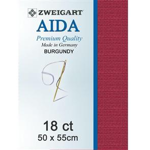 Zweigart Aida 18ct 50x55cm