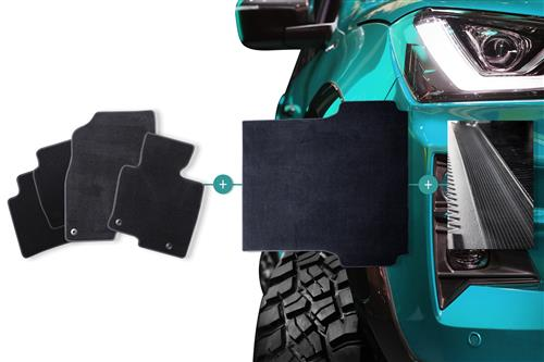 Carpet Mats Bundle to suit Isuzu D-Max Double Cab (2nd Gen) 2012-2016