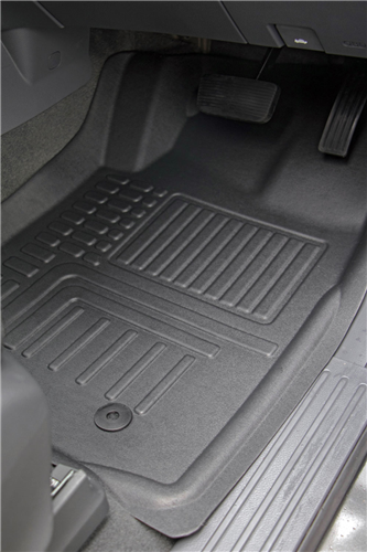 Ford Ranger Wildtrak (Double Cab PXII) 2016 onwards Deep Dish Car Mats