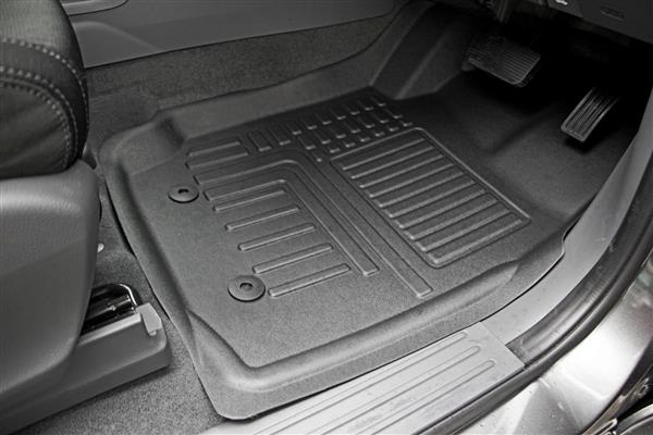 Deep Dish Car Mats to suit Ford Ranger Wildtrak (Double Cab PX) 2011-2015