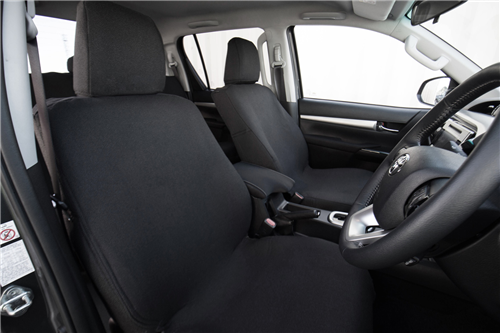 Toyota Hilux Extra Cab (8th Gen Automatic) 2015 Onwards Premium Fabric Seat Covers