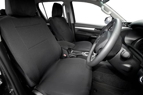 Ford Ranger Raptor 2018 onwards Neoprene Seat Covers