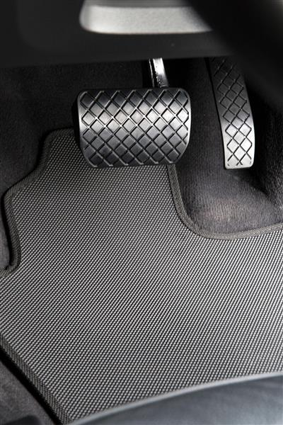 Standard Rubber Car Mats to suit Jeep Wrangler (JK 3rd Gen 2 Door) 2007-2014