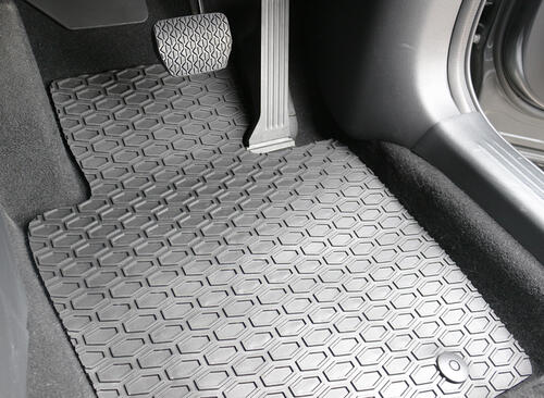 All Weather Rubber Car Mats to suit Dodge Ram Express Quad Cab (5th Gen) 2019+