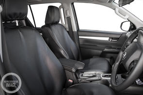 Hiace ZR (2 Seater Cargo) 2005+ PVC Leatherette Seat Covers