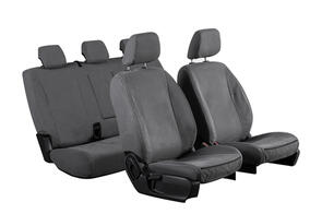 12oz Canvas Seat Covers to suit Ford Transit Custom (SWB 2nd Gen 10 SPD Auto) 2021+