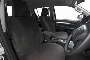Toyota Hilux Double Cab (8th Gen Manual) 2015+ 12oz Canvas Seat Covers