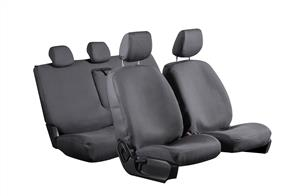 8oz Canvas Seat Covers to suit Nissan E-NV200 Van (with Bench Seat) 2014 onwards
