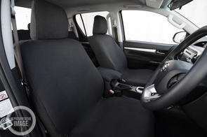 Premium Fabric Seat Covers to suit Toyota Hiace ZR (5 Seat) 2019+