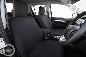 Premium Fabric Seat Covers to suit Toyota Hiace Minibus (12 Seat) 2019+