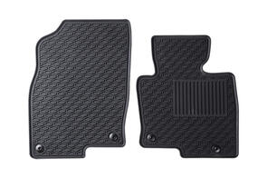 Lipped All Weather Rubber Car Mats to suit Volkswagen California Ocean 2016+