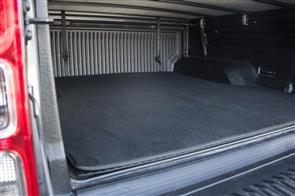 Carpet Ute Mat (With Tuff Deck) to suit Ford Ranger XLT/XLS (Double Cab) 2019 onwards