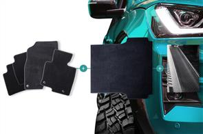 Carpet Mats Bundle to suit Ford Ranger XLT (Super Cab PXIII) 2019+