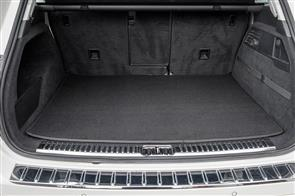 Carpet Boot Mat to suit Skoda Fabia Hatch (5J 2nd Gen) 2007-2014