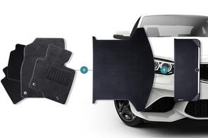 Carpet Mats Bundle to suit Tesla Model X 5 Seat 2016+