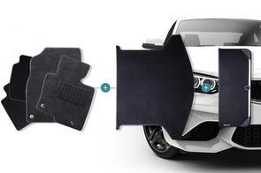 Carpet Mats Bundle to suit Tesla Model X 6 Seat (Centre Console) 2016+