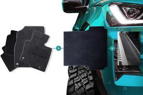 Carpet Mats Bundle to suit Mazda BT50 Dual Cab (2nd Gen) 2011-2020