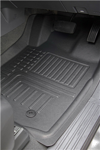 Deep Dish Car Mats to suit Toyota Hilux Double Cab (8th Gen Auto) 2015+