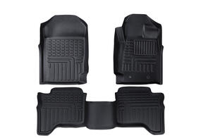 Deep Dish Rubber Mats to suit Mazda BT-50 Double Cab (3rd Gen) 2020+