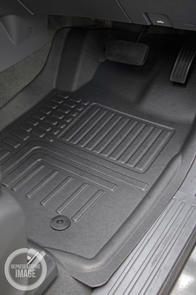 Ford Ranger XL (Super Cab PXII) 2016-2018 Deep Dish Car Mats