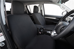 Toyota Hilux Extra Cab (8th Gen Automatic) 2015+ Premium Fabric Seat Covers