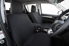 Ford Ranger Raptor 2018 onwards Premium Fabric Seat Covers