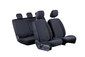 Premium Fabric Seat Covers to suit Mazda BT50 Dual Cab (2nd Gen) 2011+